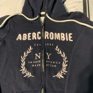 Full-Zip Abercrombie & Fitch Hoodie